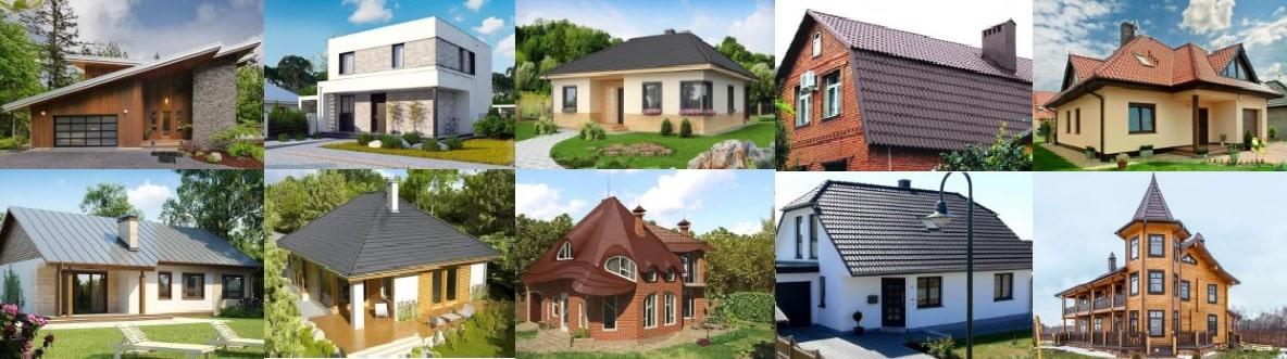 Какую форму крыши выбрать для частного дома
