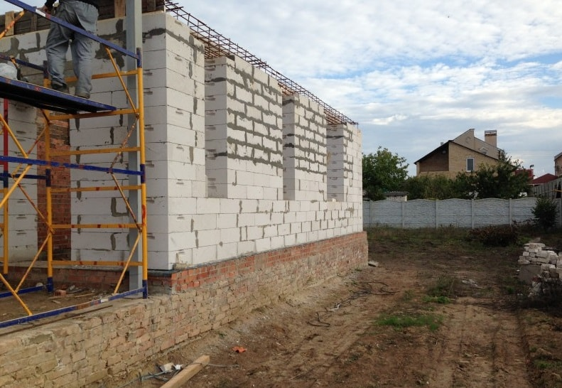 Применение газобетона для несущих стен