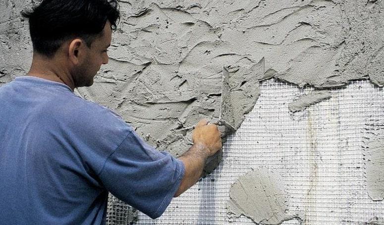 Цементная штукатурка для влажных помещений