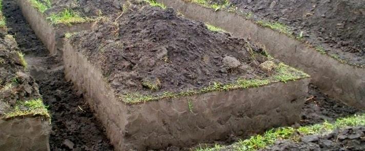 Земляные работы для фундамента
